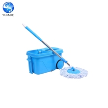 Hot selling mop thailand magic easy cleaning mopping bucket with 3 wheels