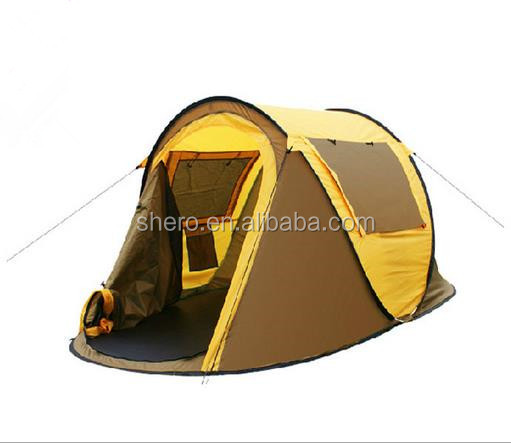 big inflatable waterproof pop up outdoor family military stretch camping tent
