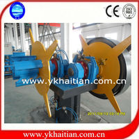 5tons hydraulic metal sheet coil uncoiling machine