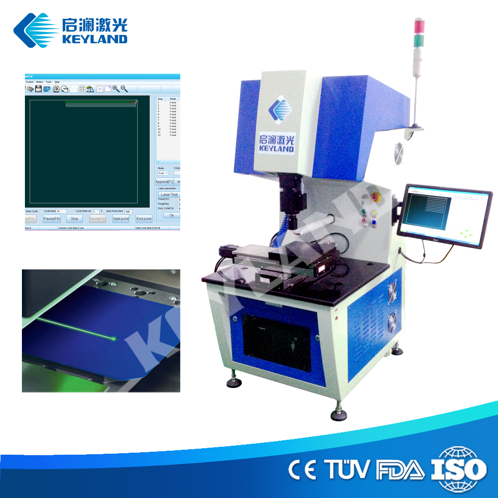 Solar Cell Laser Cutting Scribing Machine for Solar Panel Assembly Line Laminator Tester Scribing Machine