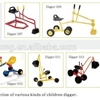 digger with wheels kid ride-on digger toy ,sandbox digger toy Digger003