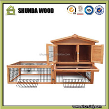 SDR018 bunny cages for inside outdoor rabbit hutch for 2 rabbits