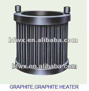 inductry use carbon graphite heater