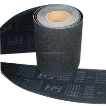 waterproof silicon carbide x-weight abrasive cloth roll