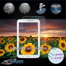 anti-fingerprint tempered glass screen protector for Samsung Galaxy Tab 3 7""