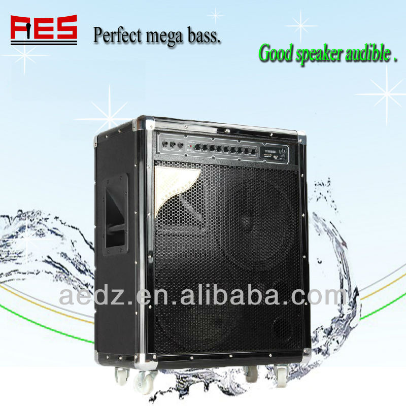 Portable outdoor wireless bass boom speaker for morning exercise meeting and dance use
