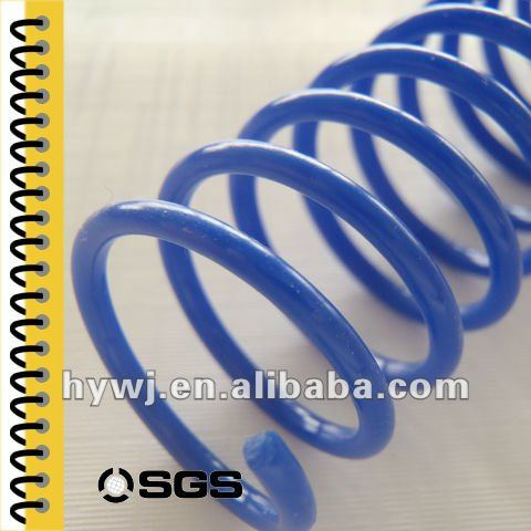 Office and school supplies chinese inBooks Printing plastic spiral binding material binding supplies plastic binding spiral coil