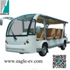 CE approved electric solar shuttle bus with AC system-EG6158K