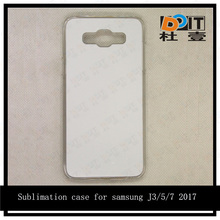Blank white case for samsung J3/J5 2017 tpu subimation case