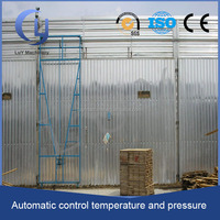 aluminium framework steam drying kiln for wood