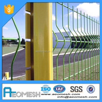 Factory High Protect Of construction Portable Dog Fence Twin Frame Wire Mesh