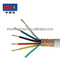 450/750v copper braided screen control cable
