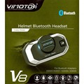Easy Rider Vimoto V8 Motorcycble GPS Way Radio Helmet Bluetooth Intercom Headset