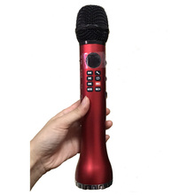 recharge 18650 9w big voice microphone wireless microphone ktv handheld microfone bluetooth speaker with microphone