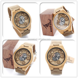 wholesale wooden watch ready watches in stock top sell wood watch without logo