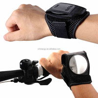 Cycling Bicycle Adjustable Black Guards Wristbands