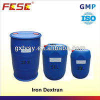 pharmaceutical BP EP USP grade raw materials iron dextran