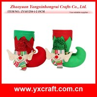 Christmas Decoration Supplies High Quality Elf boots Xmas Candy Jar