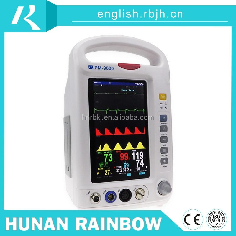 Competitive price crazy selling multi parameter cardiac patient monitor