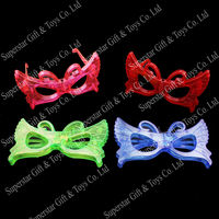 6140212-2 promotional flashing glasses, butterfly glasses