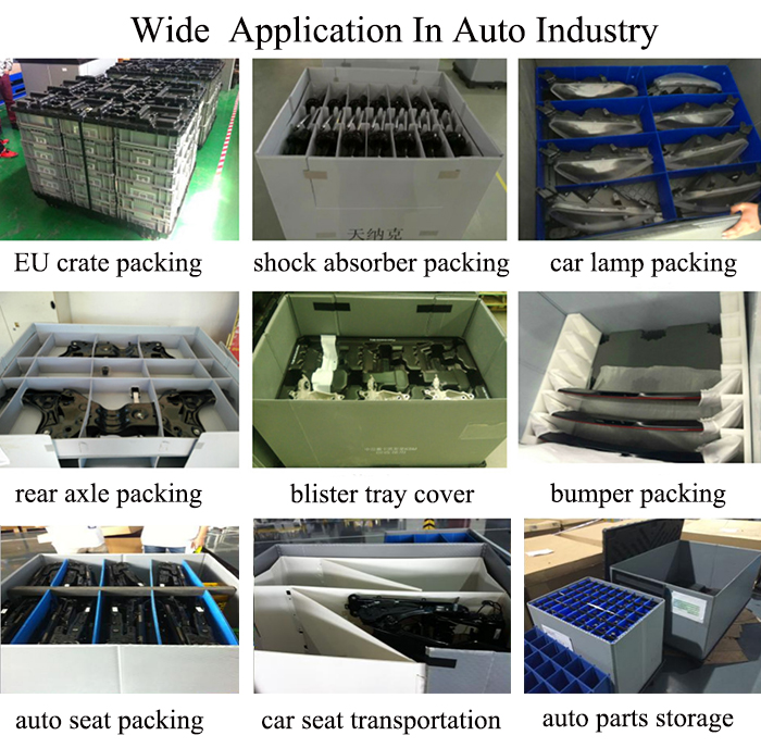 plastic sheet coaming boxes,pallet coaming box and logistic coaming box