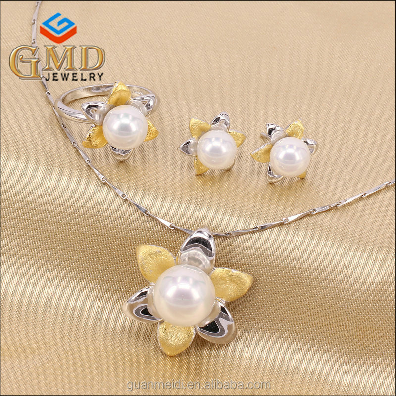 Import Jewelry From China Popular Pearl Jewelry Set/Wedding Pearl Jewelry