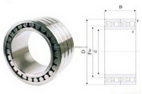 Competitive price new products cylindrical roller bearing nf2236