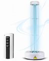 Portable uv light disinfection to kill bacteria and virus