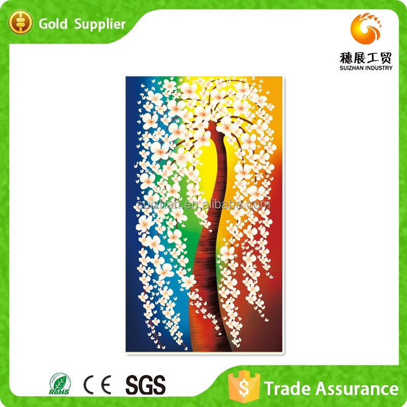 Free Sample Wall Rrt Resin Embroidery 3D Painting For Sale
