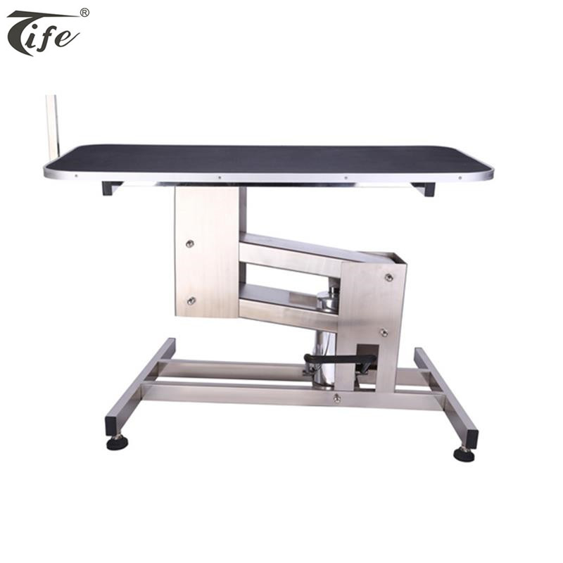 Professional high quality cheap price powerful electric pet dog grooming table with wheels