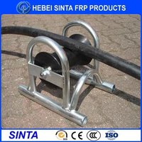 Hot sale straight line cable pulley wheel, steel cable pulley, steel cable roller