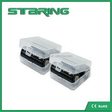 2Pcs 18500 Battery cell Case 18500 Holder storage boxes 26650 battery cell plastic battery box