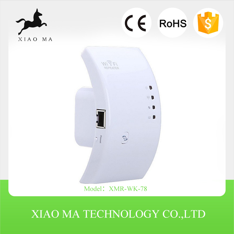 300Mbps WiFi Repeater WLAN Wireless-N WPS Wi-Fi Repeaters XMR-WK-78