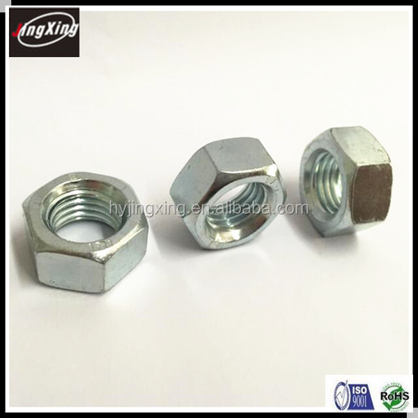 galvanized iso 4032 hex nut manufacturer