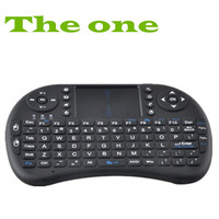100% Original Fly Air Mouse 2.4G RII Mini Wireless Keyboard Mouse Touchpad for PC Notebook Android TV Box HTPC Black