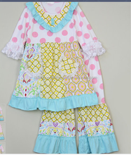 Adorable super fashion wholesale toddler girls sets boutique children's remake clothing sets