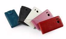New Shine Flip Leather Case for Huawei Ascend Y320