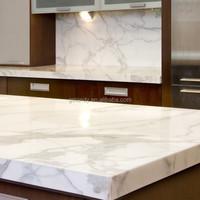 Calacatta Quartz Slab Price/quartz Countertop Wholesale