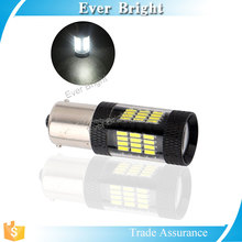 Automobile led 12v 4014 light bulb 57smd cars tail lights led turn signal motorcycle & car lights