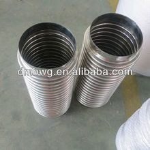 300, 400 series corrugated stainless steel hose