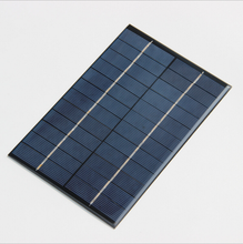 4.2W 12V solar panel drop adhesive board DIY advanced polysilicon plate
