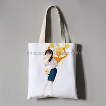 Eco Printed 8oz Cotton Cloth Bag Shopper Bag Canvas Shopping Bag