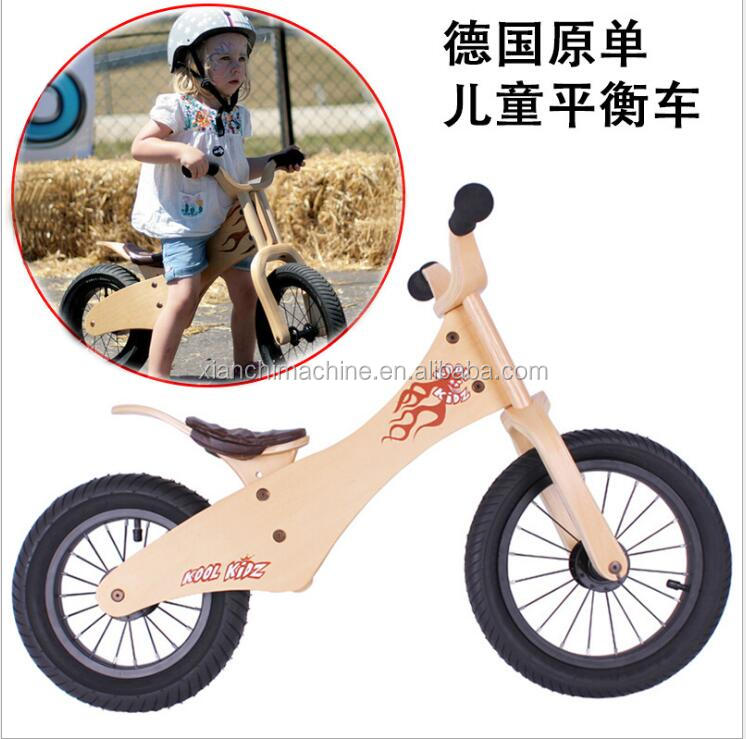 2017 mini Bike For Children Factory Direct Wood Bike For Baby Super Kid Bicyle