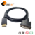 DP to DVI-D Cable, Displayport to DVI 24+1 Male to Female Cable Supports 1080P 60hz with Latches for Laptop Computer