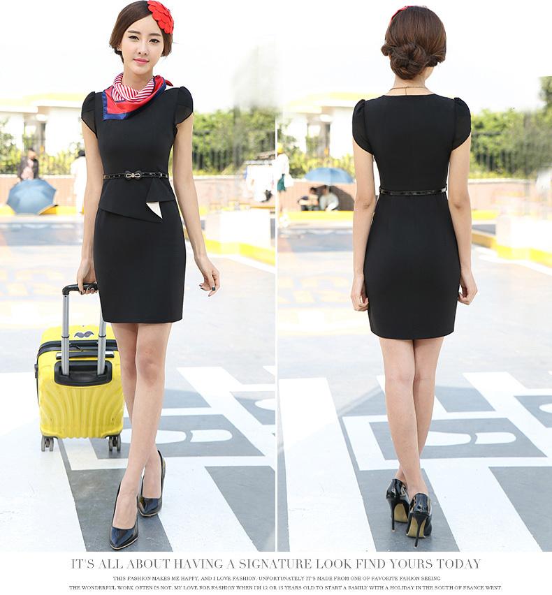 Black dress uniform kastam