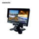 5/6/6.5/7/9 inch split screen TFT stand alone car monitor for car bus truck