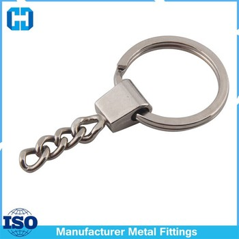Leather Craft Tools Metal Chain-Type Keyring For Making Keyrings