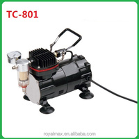 Mini tattoo/air compressor portable TC-801 Series for makeup,painting body.airbrush compressor