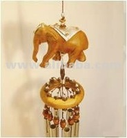 Lucky Elephant Wind Chimes