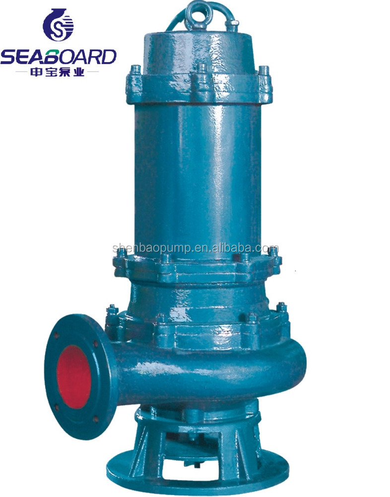 Non-clog centrifugal sewage pump dirty water submersible pump